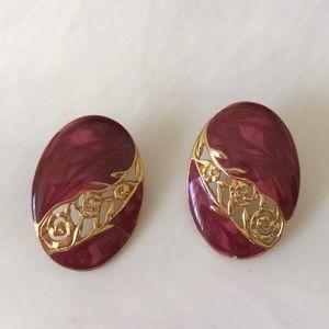 Vintage Edgar Berebi post earrings